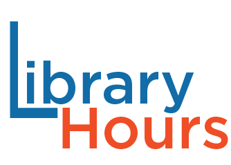 Library Hours new orange